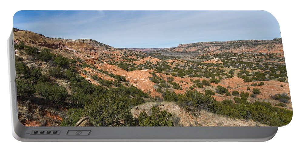 Palo Duro Canyon Portable Battery Charger featuring the photograph 030715 Palo Duro Canyon 136 by Ashley M Conger
