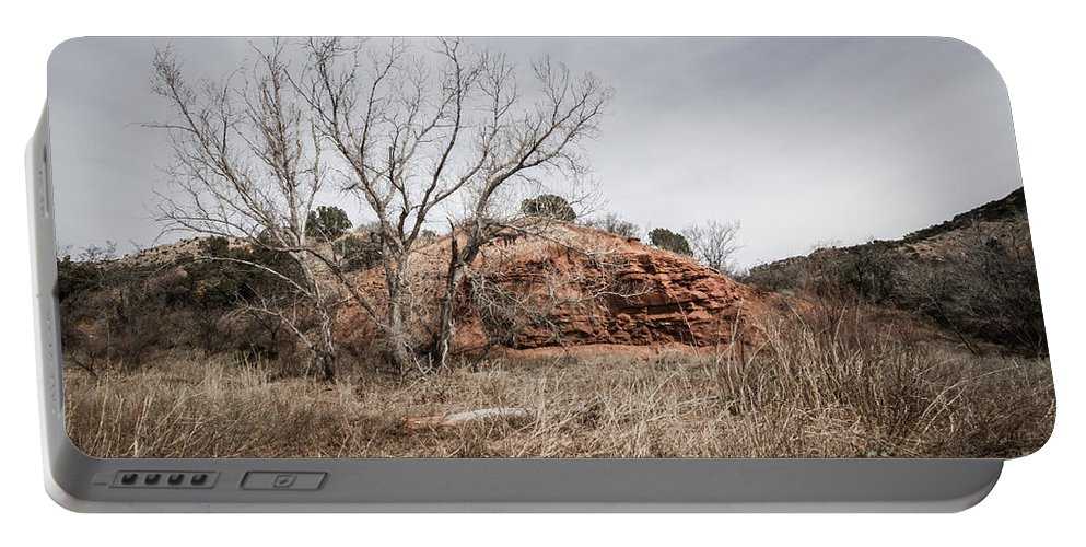 Palo Duro Canyon Portable Battery Charger featuring the photograph 030715 Palo Duro Canyon 161 by Ashley M Conger
