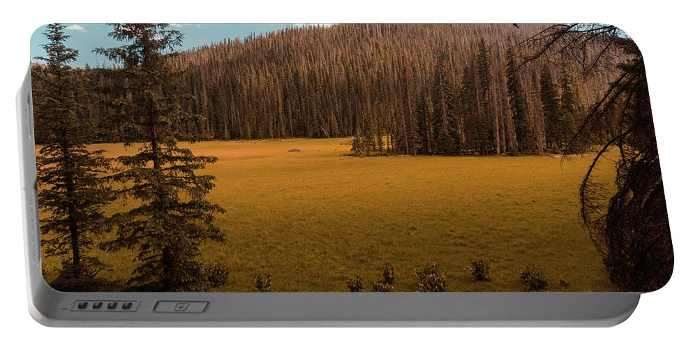 Landscape Portable Battery Charger featuring the photograph 06/30/2017 by Joshua Hernandez