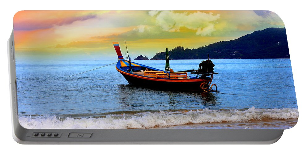 Thailand Portable Battery Charger featuring the photograph Thailand by Mark Ashkenazi
