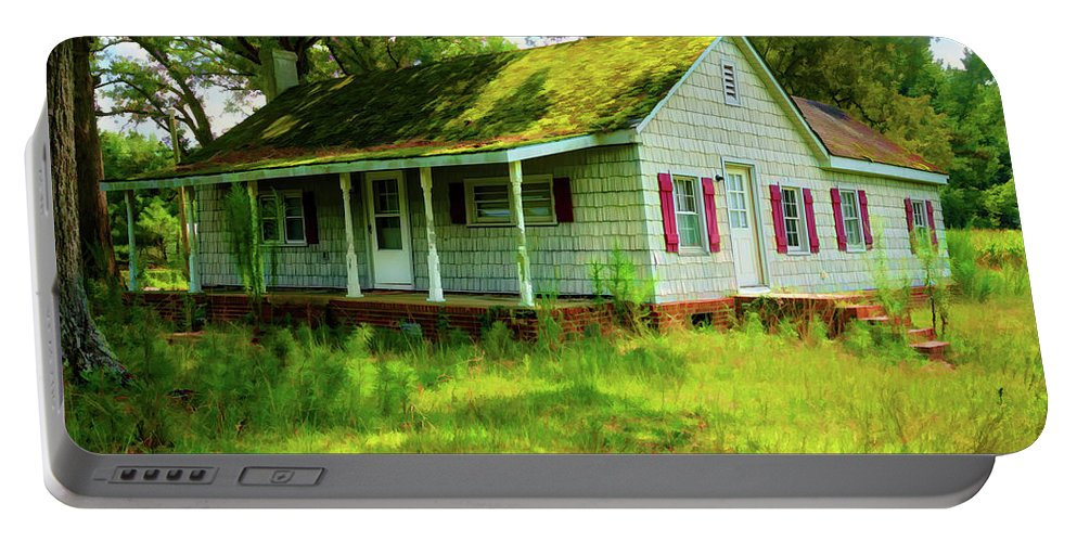 House Portable Battery Charger featuring the photograph Abandoned by Robert Mullen