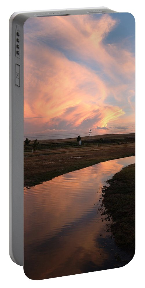 Clouds Portable Battery Charger featuring the photograph After The Storm by Jerry McElroy
