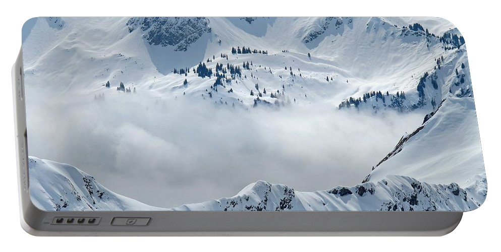 Mountain Portable Battery Charger featuring the photograph Alpine by FL collection