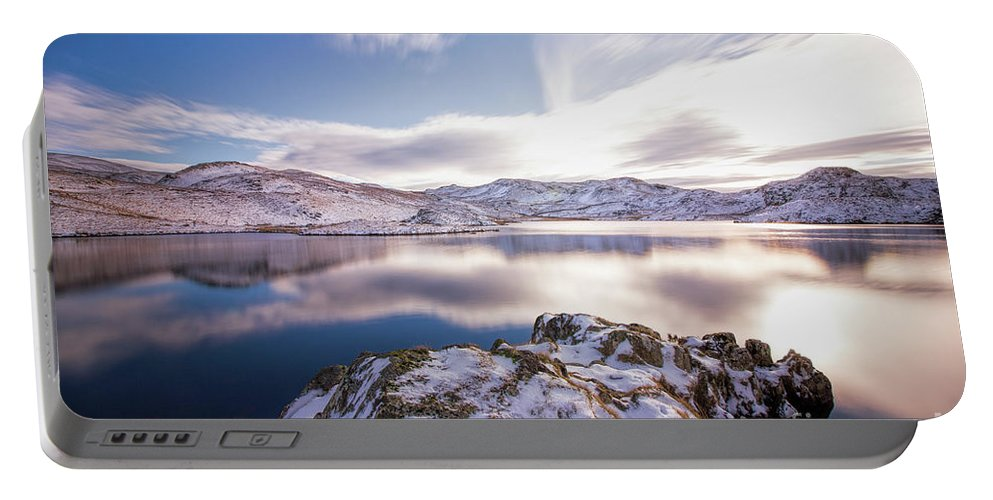 Angletarn Portable Battery Charger featuring the photograph Angle Tarn by Scott Lynan