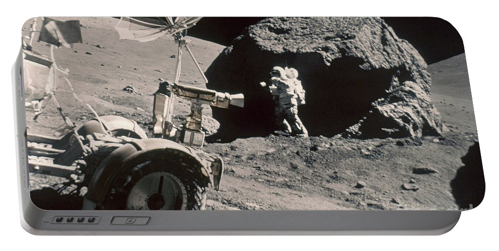 1972 Portable Battery Charger featuring the photograph Apollo 17, December 1972: by Granger