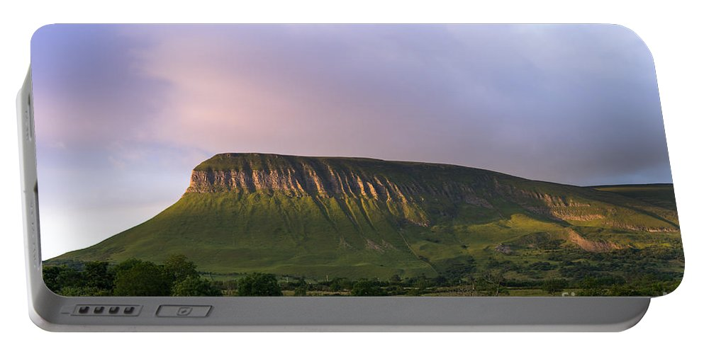 Ben Portable Battery Charger featuring the photograph Ben Bulben by Andrew Michael