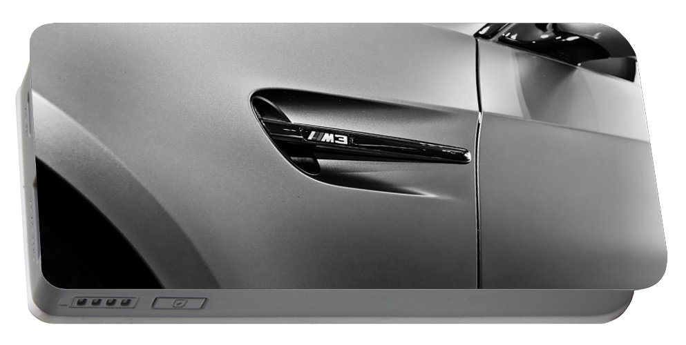 Bmw M3 Portable Battery Charger featuring the photograph Bmw M3 by Aaron Berg