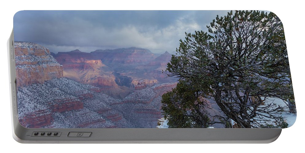 Landscape Portable Battery Charger featuring the photograph Breaking Thru by Jonathan Nguyen