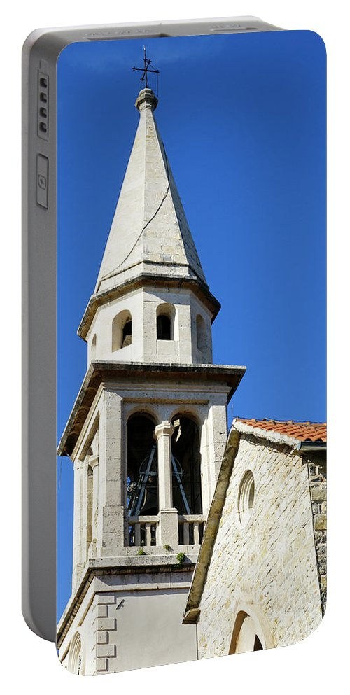 Travel Portable Battery Charger featuring the photograph Budva, Montenegro by Ruth Hofshi