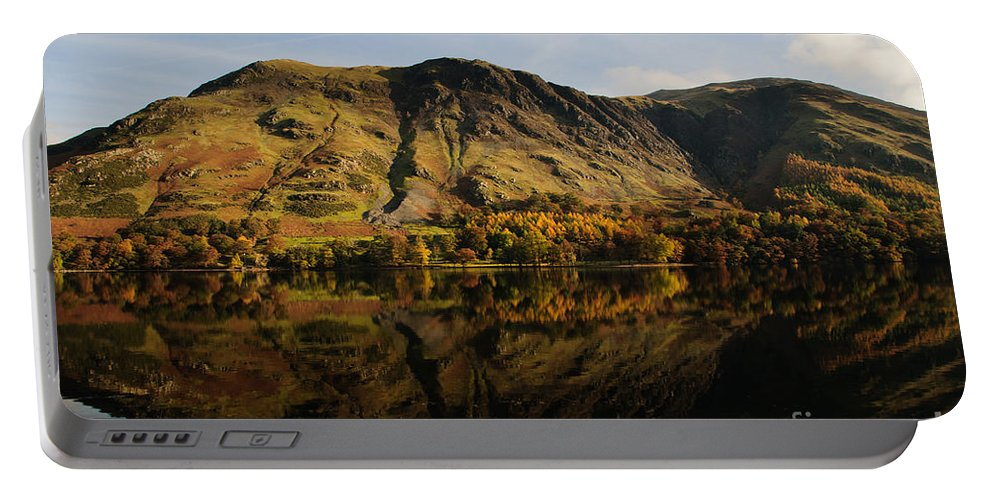 Buttermere Lake Portable Battery Charger featuring the photograph Buttermere by Smart Aviation