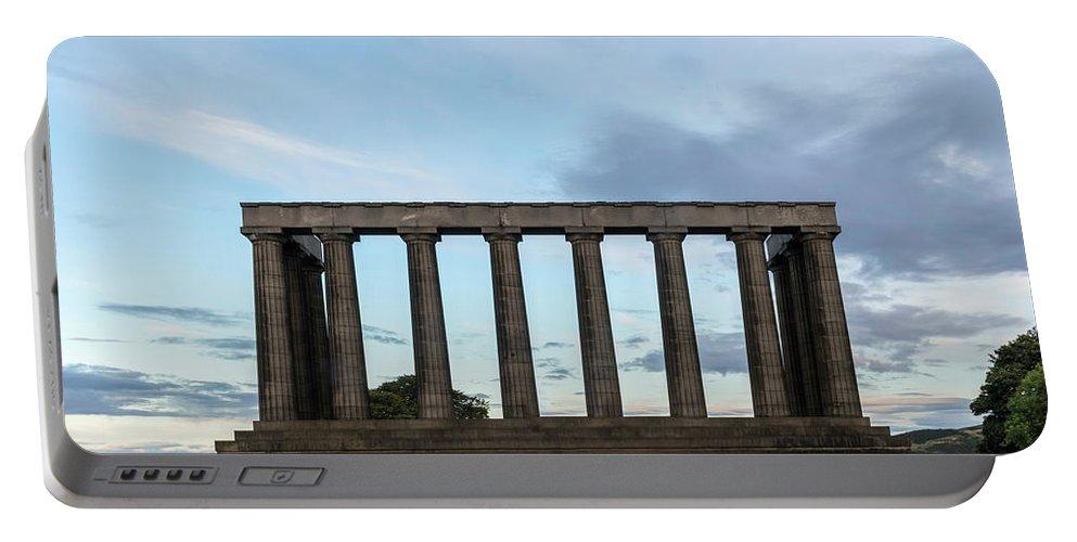 Calton Hill Portable Battery Charger featuring the photograph Calton Hill - Edinburgh by Joana Kruse