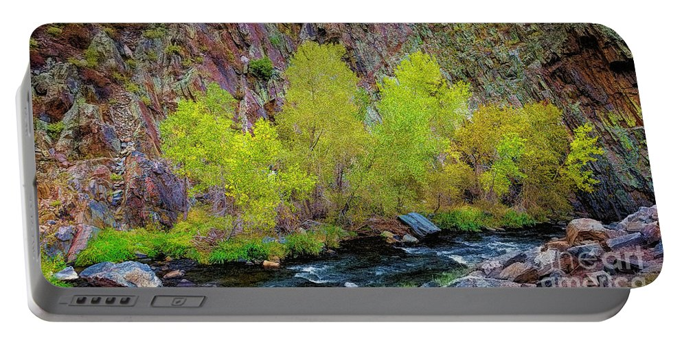 Jon Burch Portable Battery Charger featuring the photograph Canyon Color by Jon Burch Photography
