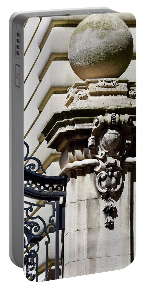 New York City Portable Battery Charger featuring the photograph Central Park West 2 by Dennis Knasel