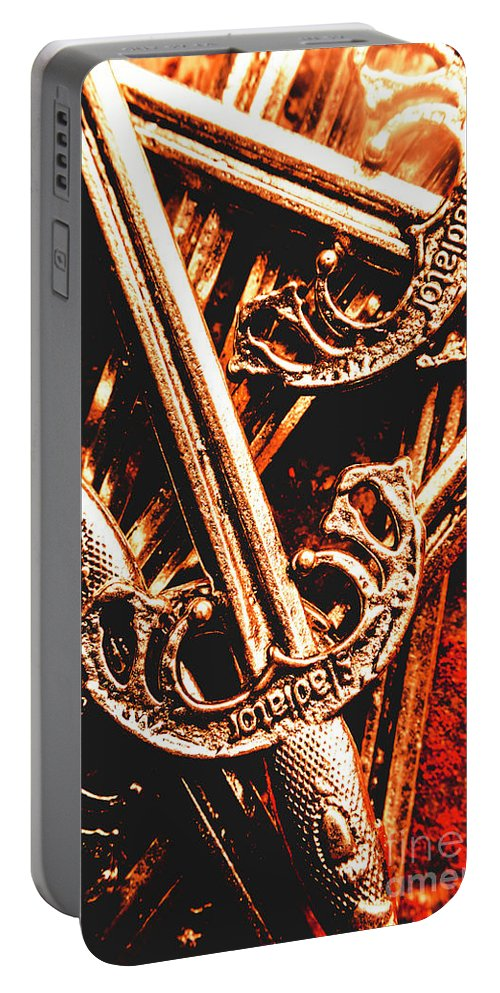 Gladiator Portable Battery Charger featuring the photograph Centurion Of Battle by Jorgo Photography - Wall Art Gallery