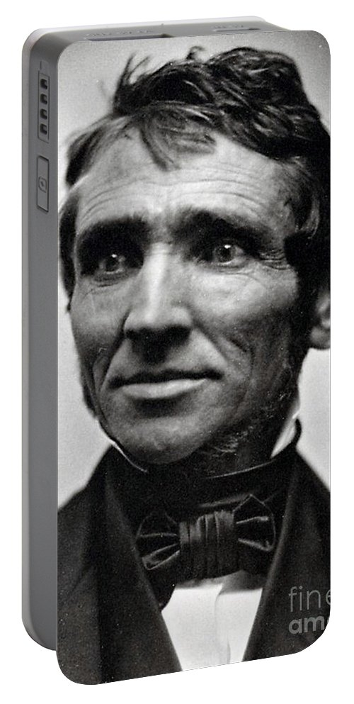 Science Portable Battery Charger featuring the photograph Charles Goodyear, American Inventor by Science Source