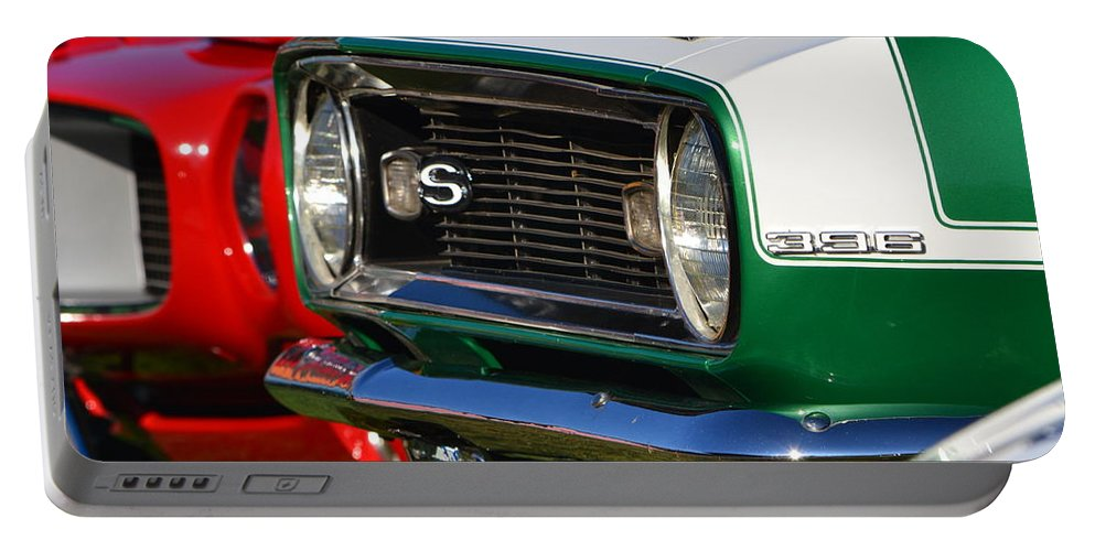 Portable Battery Charger featuring the photograph Classic Camero by Dean Ferreira