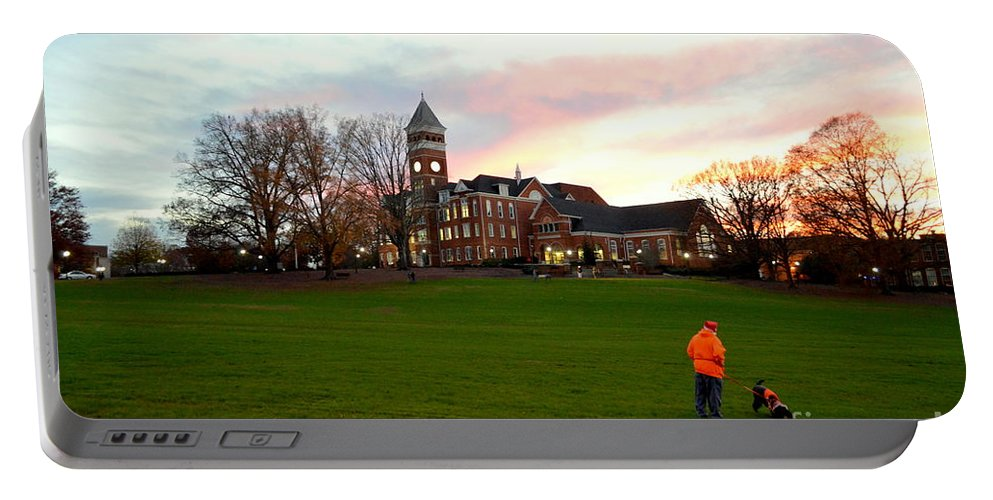Clemson Portable Battery Charger featuring the photograph Clemson by Suranga Basnagala