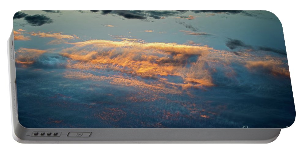 Clouds Portable Battery Charger featuring the photograph Clouds by David Arment