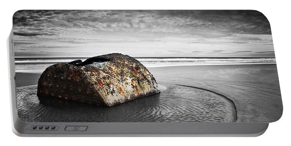 Bay Portable Battery Charger featuring the photograph Coastal Scene by Svetlana Sewell