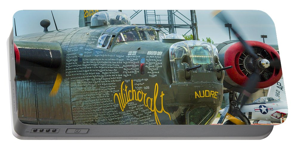 Aircraft Portable Battery Charger featuring the photograph Consolidated B-24j Liberator by Jack R Perry