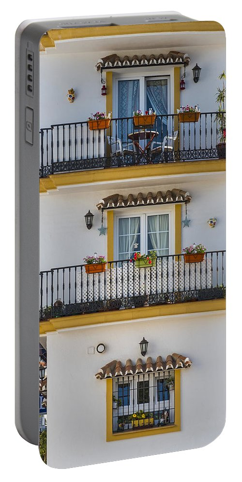 Costa Del Sol Portable Battery Charger featuring the photograph Costa Del Sol  Spain by Jon Berghoff