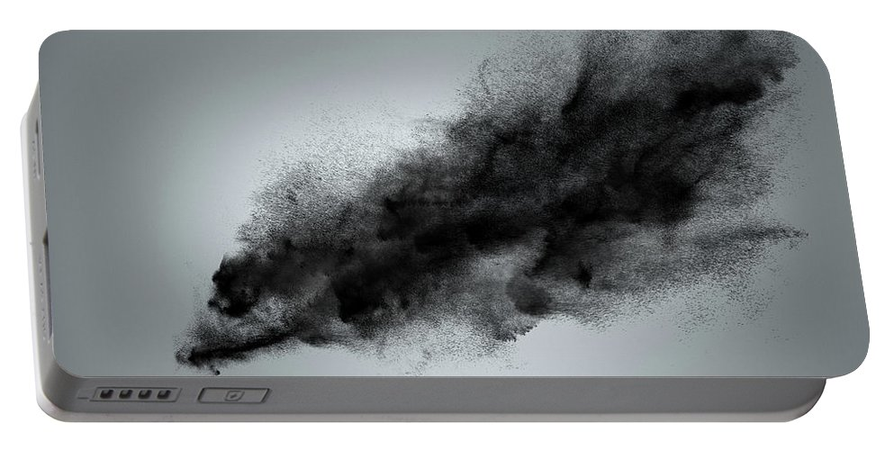 Dust Portable Battery Charger featuring the photograph Creative Dark Cloud by IPolyPhoto Art