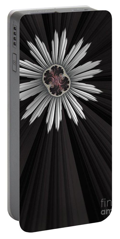 Gears Portable Battery Charger featuring the digital art Starbright by John Edwards