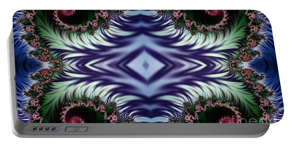 Clay Portable Battery Charger featuring the digital art Diamonds Are Forever by Clayton Bruster