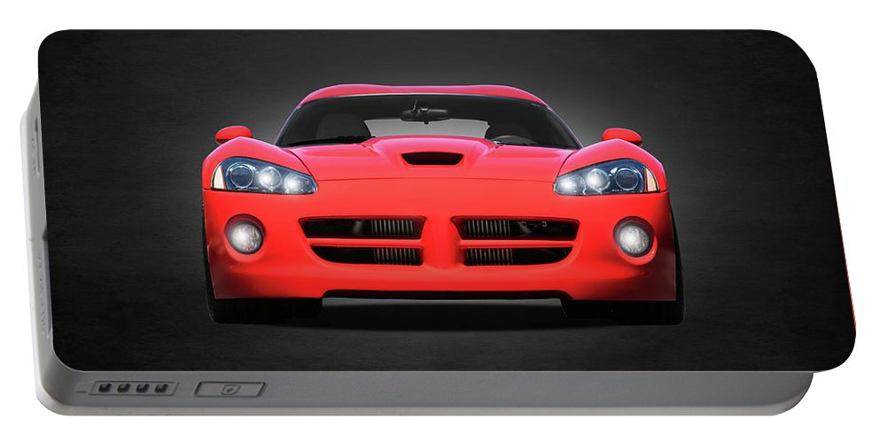 Dodge Viper Portable Battery Charger featuring the photograph Dodge Viper by Mark Rogan