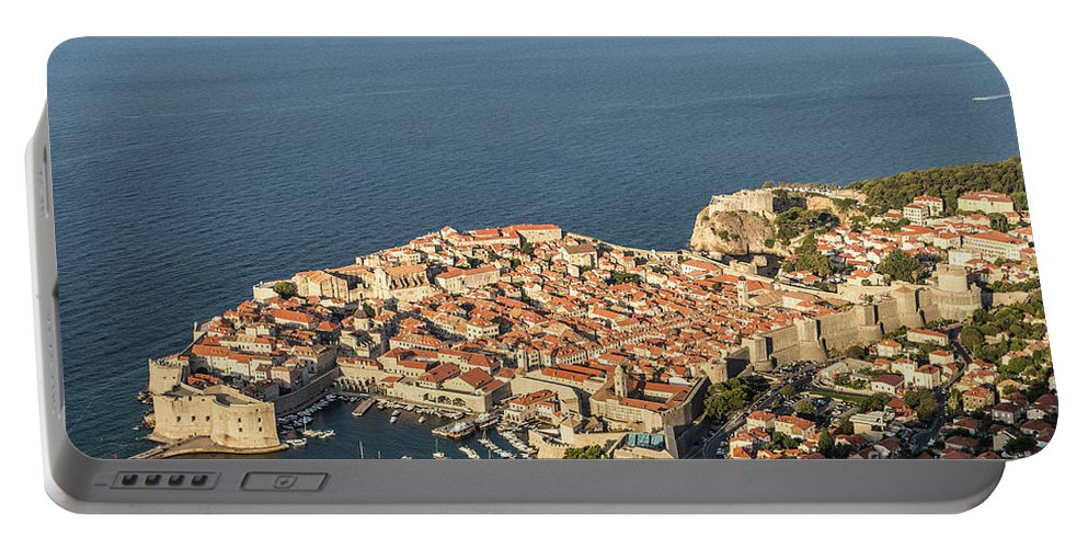 Ancient Portable Battery Charger featuring the photograph Dubrovnik And The Adriatic Coast In Croatia by Didier Marti