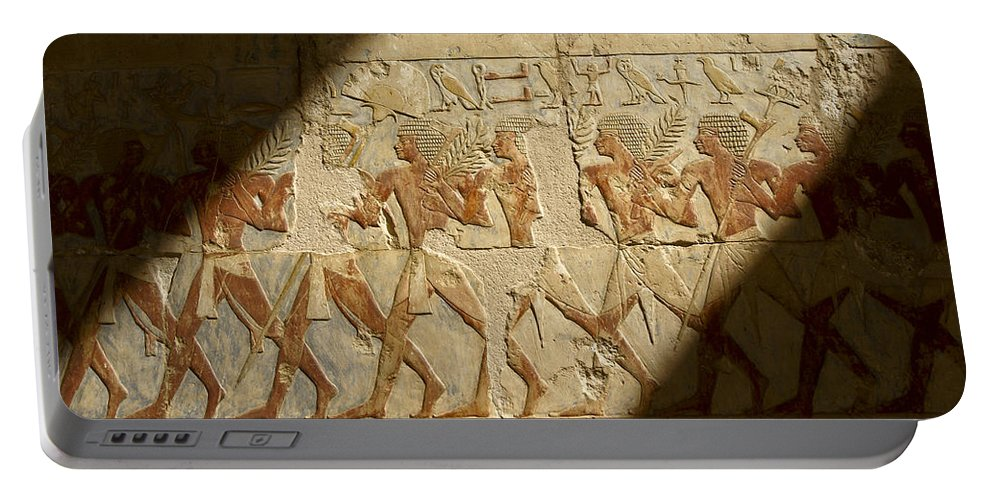 Egypt Portable Battery Charger featuring the photograph Egyptian Relief by Michele Burgess