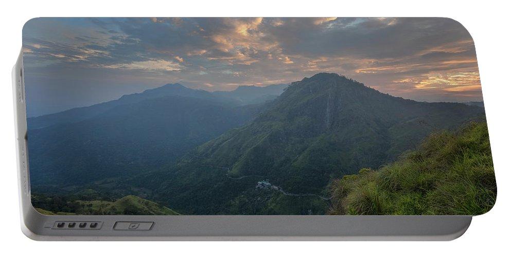 Little Adam's Peak Portable Battery Charger featuring the photograph Ella - Sri Lanka by Joana Kruse