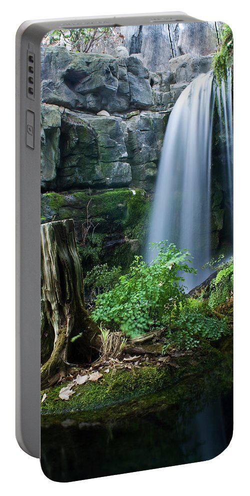 Fairy Portable Battery Charger featuring the photograph Enchanted Waterfall by Douglas Barnett