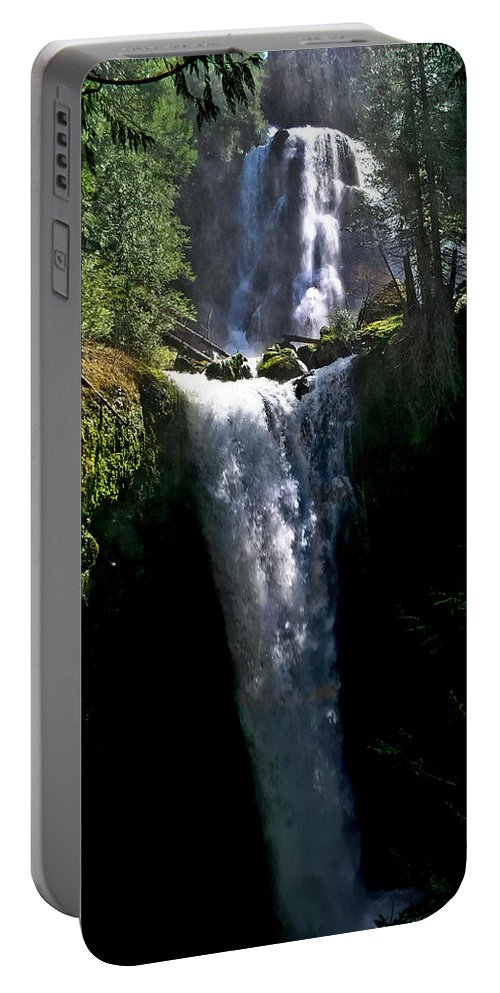 Falls Creek Portable Battery Charger featuring the photograph Falls Creek Falls by Albert Seger