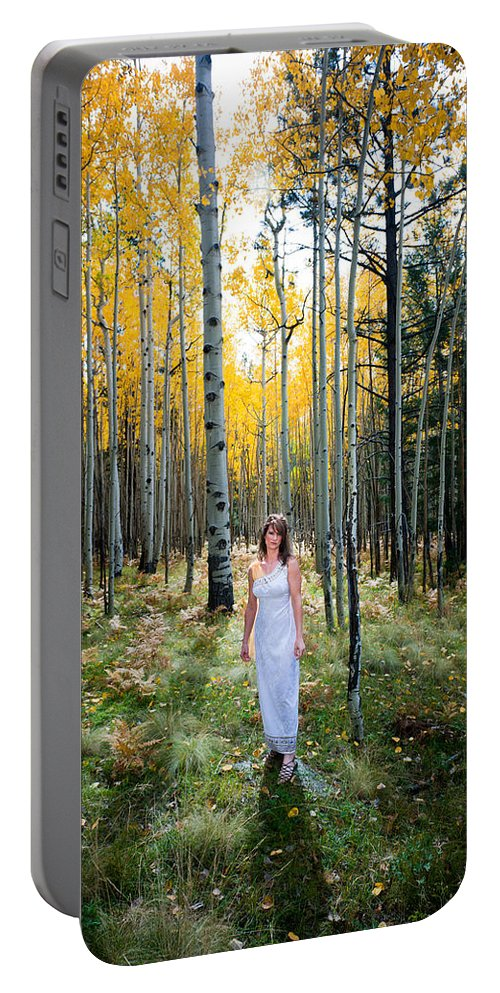 Goddess Portable Battery Charger featuring the photograph Goddess Walk by Scott Sawyer