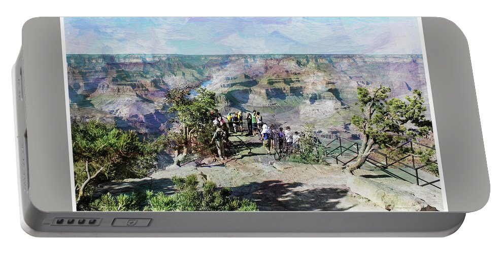 Rand Portable Battery Charger featuring the photograph Grand Canyon by Margie Wildblood