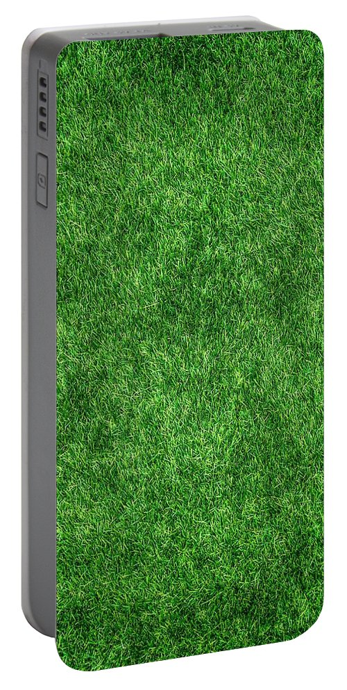Grass Portable Battery Charger featuring the photograph Green Grass by Tilen Hrovatic