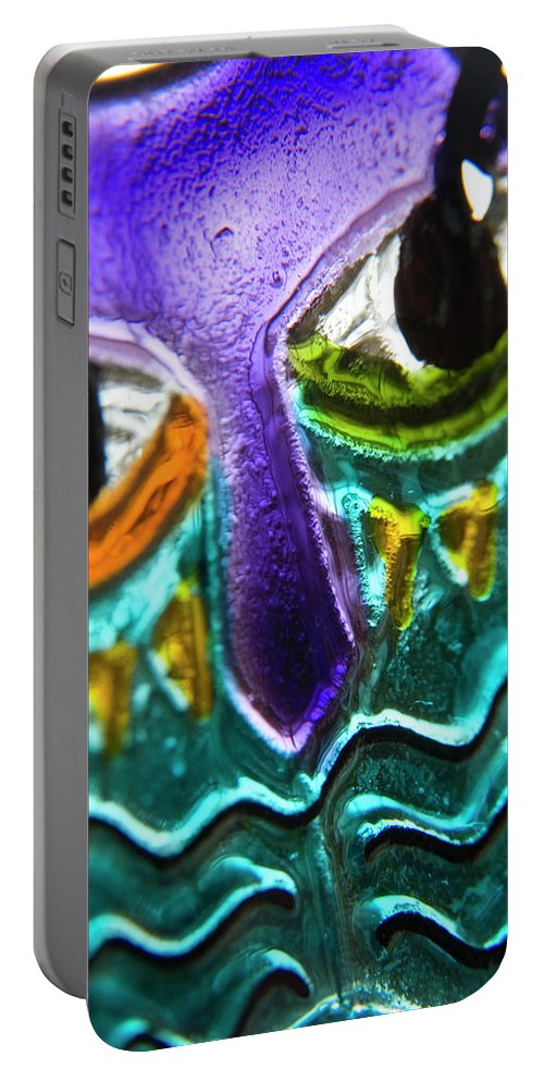 Glass Portable Battery Charger featuring the photograph Here's Looking At You by Jerry McElroy