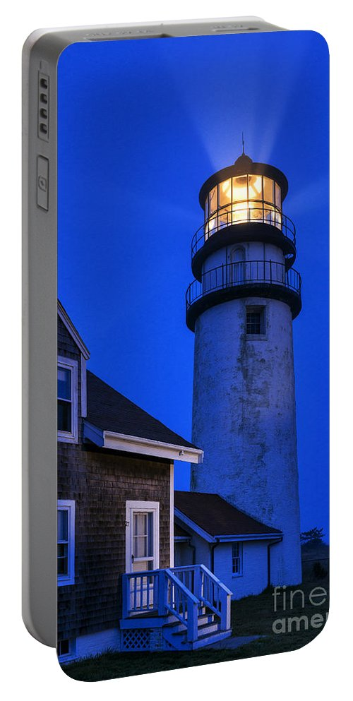 Cape Cod Portable Battery Charger featuring the photograph Highland Lighthouse by John Greim