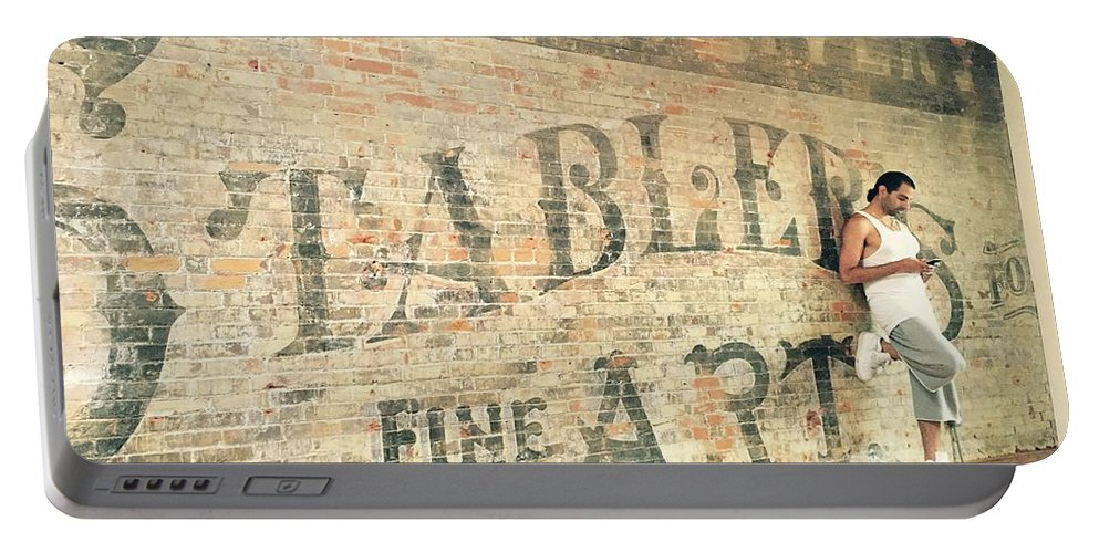 Wall Portable Battery Charger featuring the photograph 1 by J B