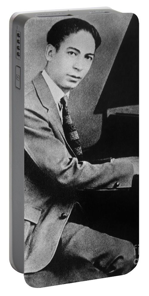 19th Century Portable Battery Charger featuring the photograph Jelly Roll Morton. For Licensing Requests Visit Granger.com by Granger
