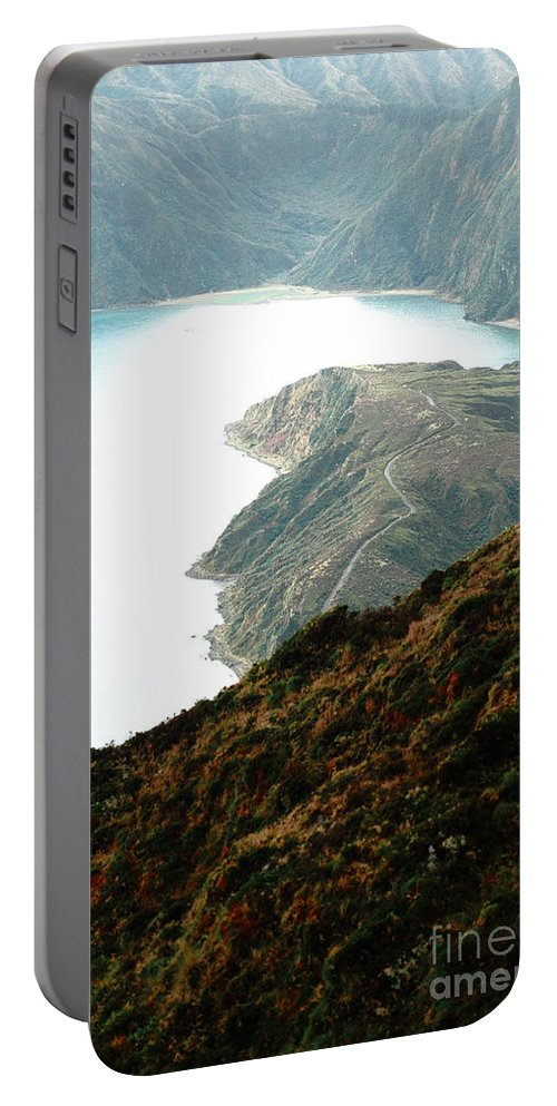 Fogo Crater Portable Battery Charger featuring the photograph Lagoa Do Fogo by Gaspar Avila
