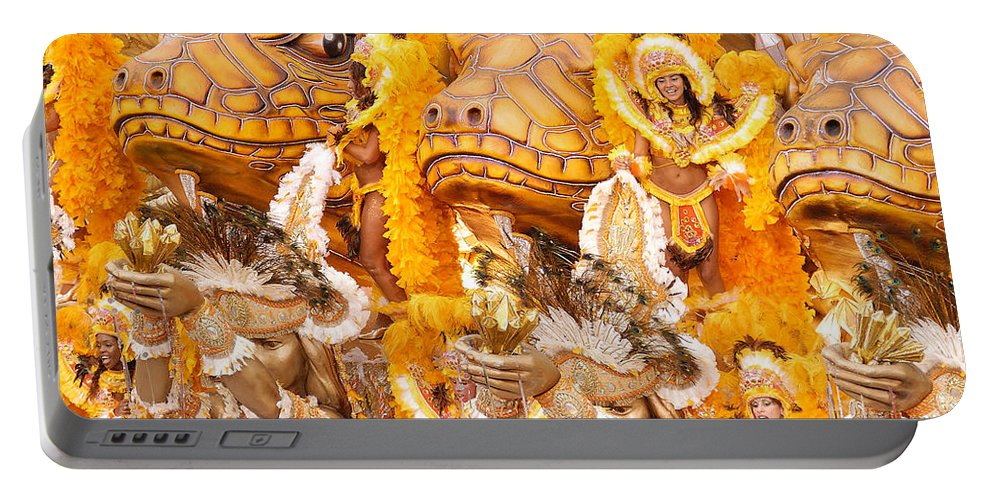 Brazil Portable Battery Charger featuring the photograph Lets Samba by Sebastian Musial