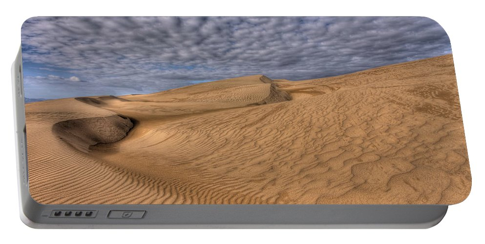 Sand Portable Battery Charger featuring the photograph Magic Of The Dunes by Beth Sargent