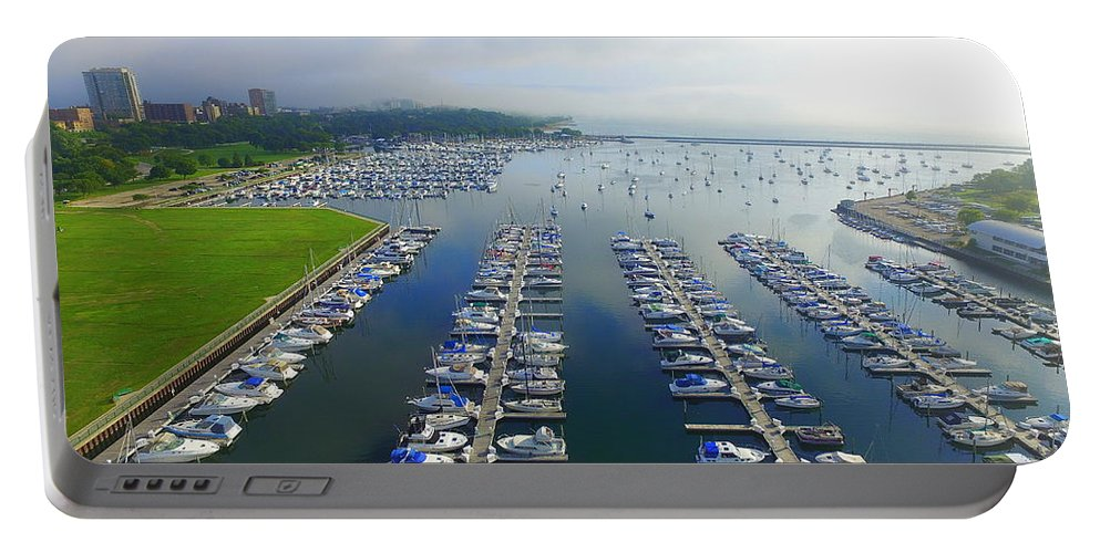 Milwaukee Portable Battery Charger featuring the photograph Mckinley Marina by Steve Bell