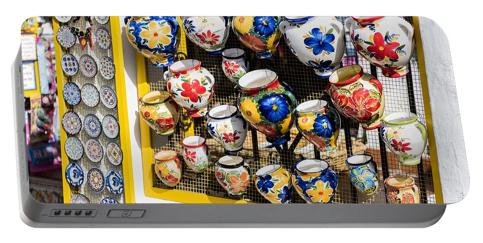 Mijas Portable Battery Charger featuring the photograph Mijas - Costa Del Sol  Spain by Jon Berghoff