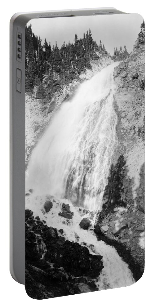 1932 Portable Battery Charger featuring the photograph Mount Rainier National Park by Granger