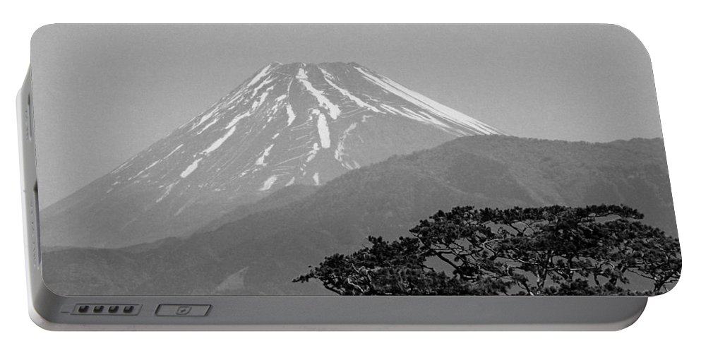 Asia Portable Battery Charger featuring the photograph Mt. Fuji by Juergen Weiss