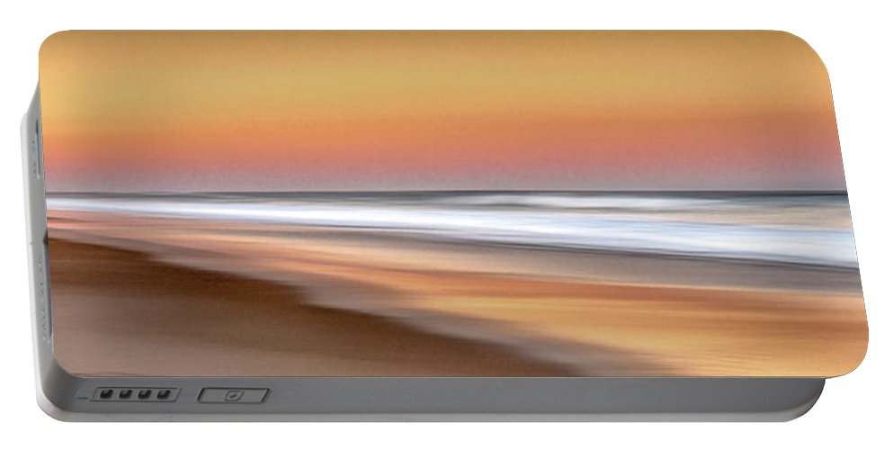 Usa Portable Battery Charger featuring the photograph Nauset Beach 5 by John Whitmarsh