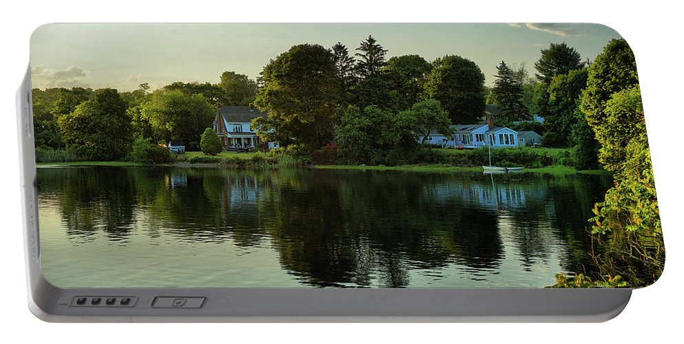 New England Scenery Portable Battery Charger featuring the photograph New England Scenery by Lilia D